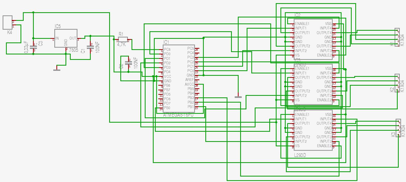 CNC Fräse – Elektronik und Software – Jacob Seibert